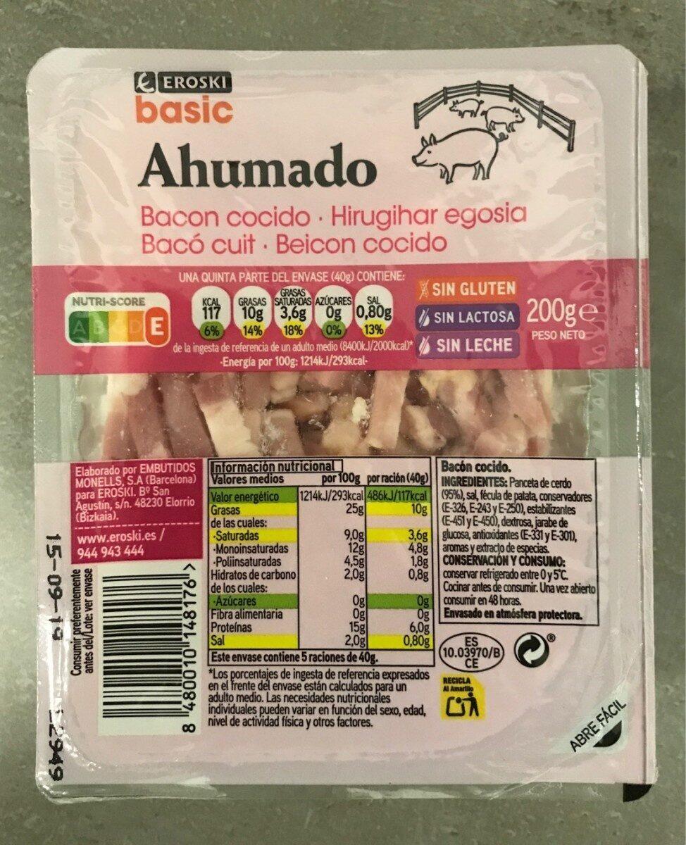 Bacón cocido ahumado - Producto - es