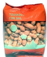 Cacahuetes tostados con sal - Product - es