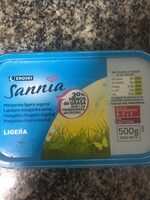 Sannia - Margarina ligera vegetal - Producte