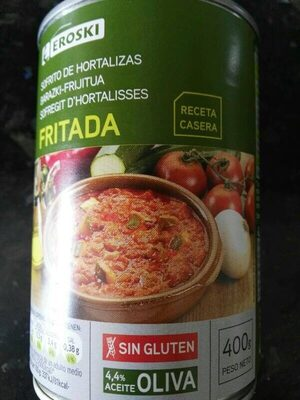 Fritada - Sofrito de hortalizas