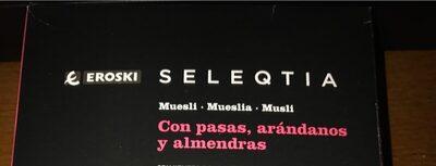 Seleqtia - Muesli con pasas, arándanos y almendras