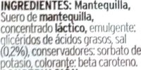 Mantequilla - Ingredients - es