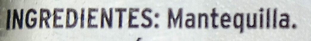 Mantequilla - Ingrediënten