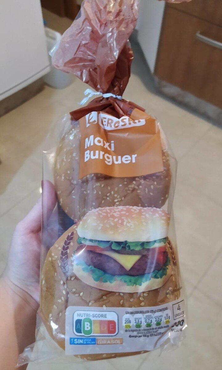 Pan de Hamburguesa Maxi - Produit - es