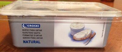 Queso para untar natural - Producto
