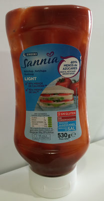Sannia: Ketchup light