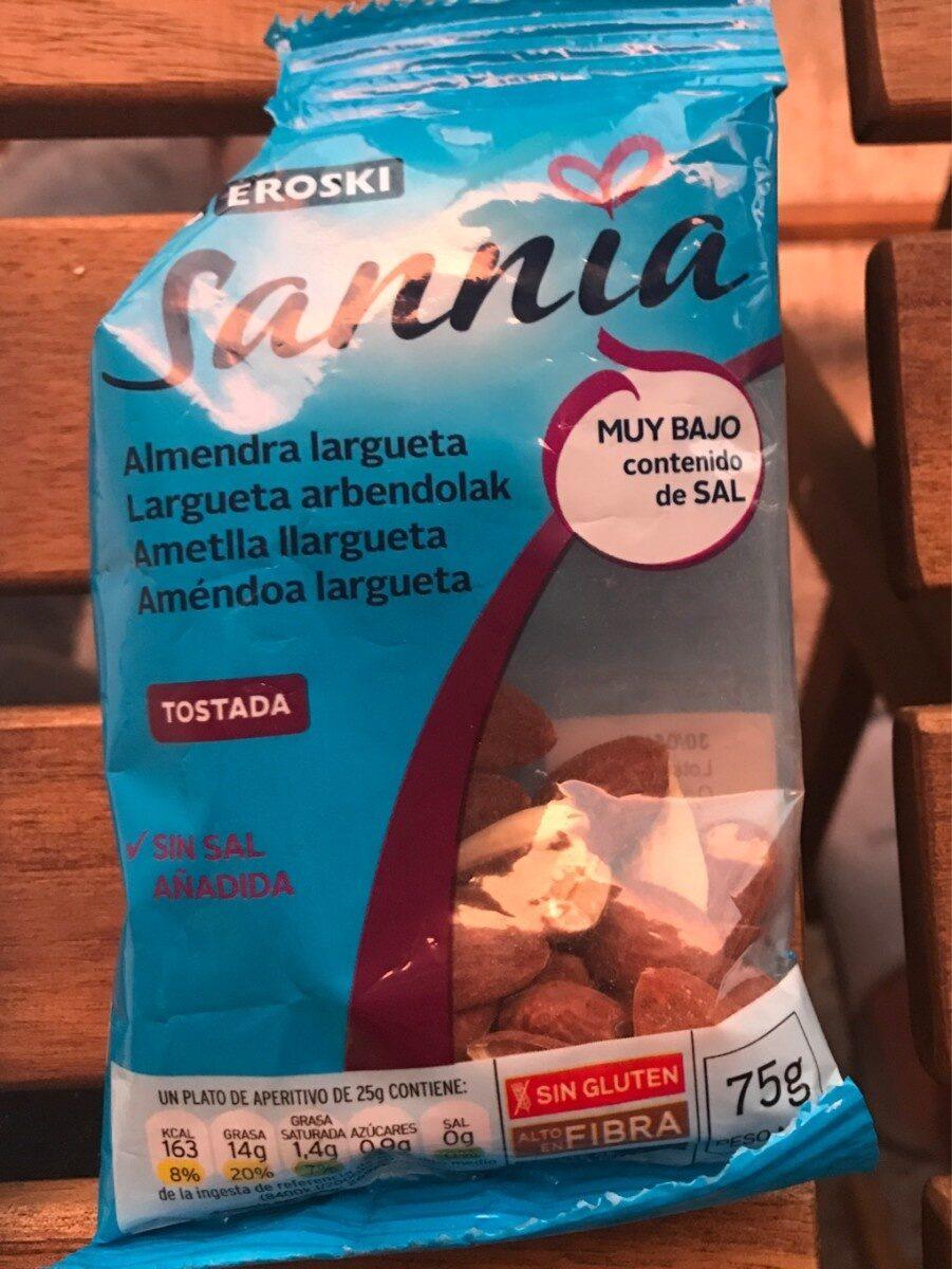 Sannia - Almendra largueta tostada - Producto