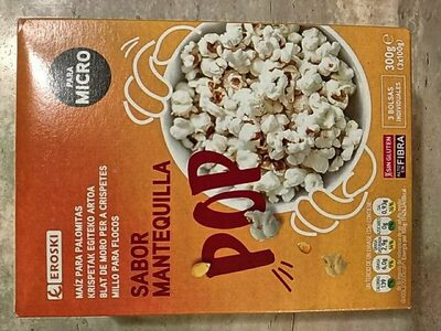Pop corn sabor - Producte