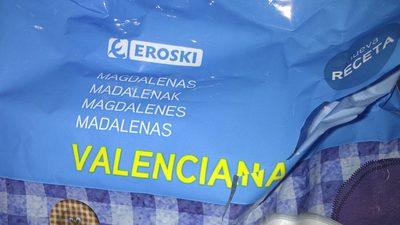 magdalenas valencianas - Produto