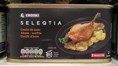 Seleqtia - Confit de pato