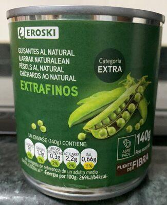 Guisantes al natural extrafinos - Product