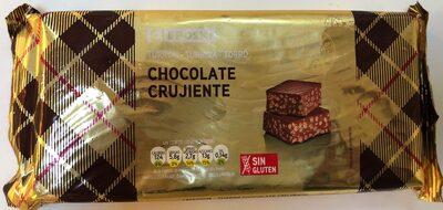 Chocolate crujiente turron - Producte