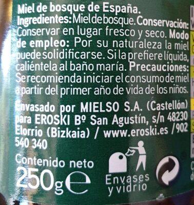De Bosque - Ingredients