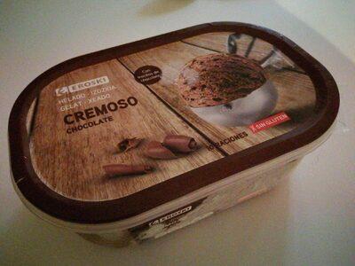 Helado cremoso chocolate - Produit - es
