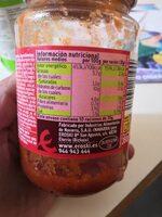 Salsa boloñesa - Informations nutritionnelles