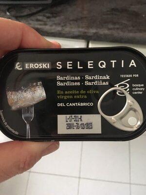 Sardinas en aceite de oliva virgen extra