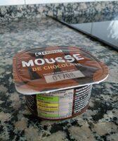 Mousse de chocolate - Informació nutricional - es