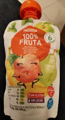 100% fruta (multifrutas)