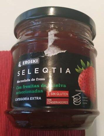 Seleqtia - Mermelada de fresa - Producte - es