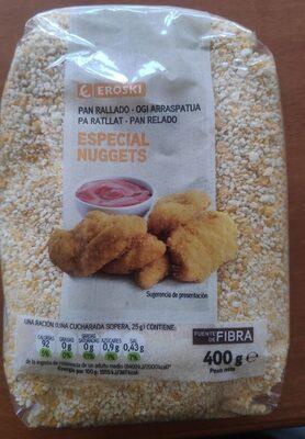 Pan rallado especial nuggets