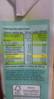 Bebida tropical - Voedingswaarden - es