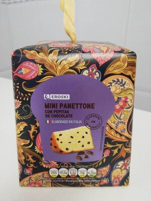 Mini Panettone con pepitas de chocolate