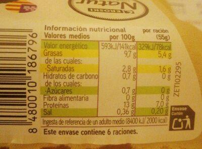 Huevos Eroski Natur - Product - es
