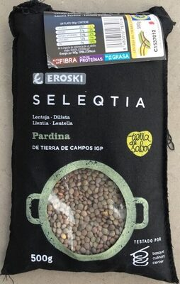 Seleqtia - Lenteja pardina - Produit