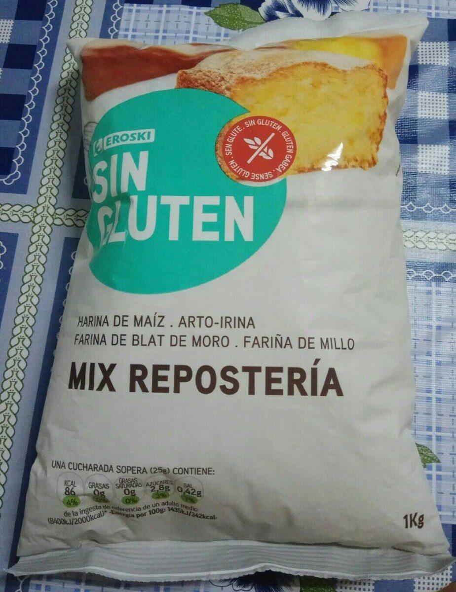 Mix repostería sin gluten - Producto - es