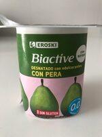 Biactive desnatado con pera - Product - es