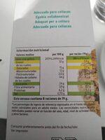 Cookies chocolate y avellanas sin gluten - Voedigswaarden