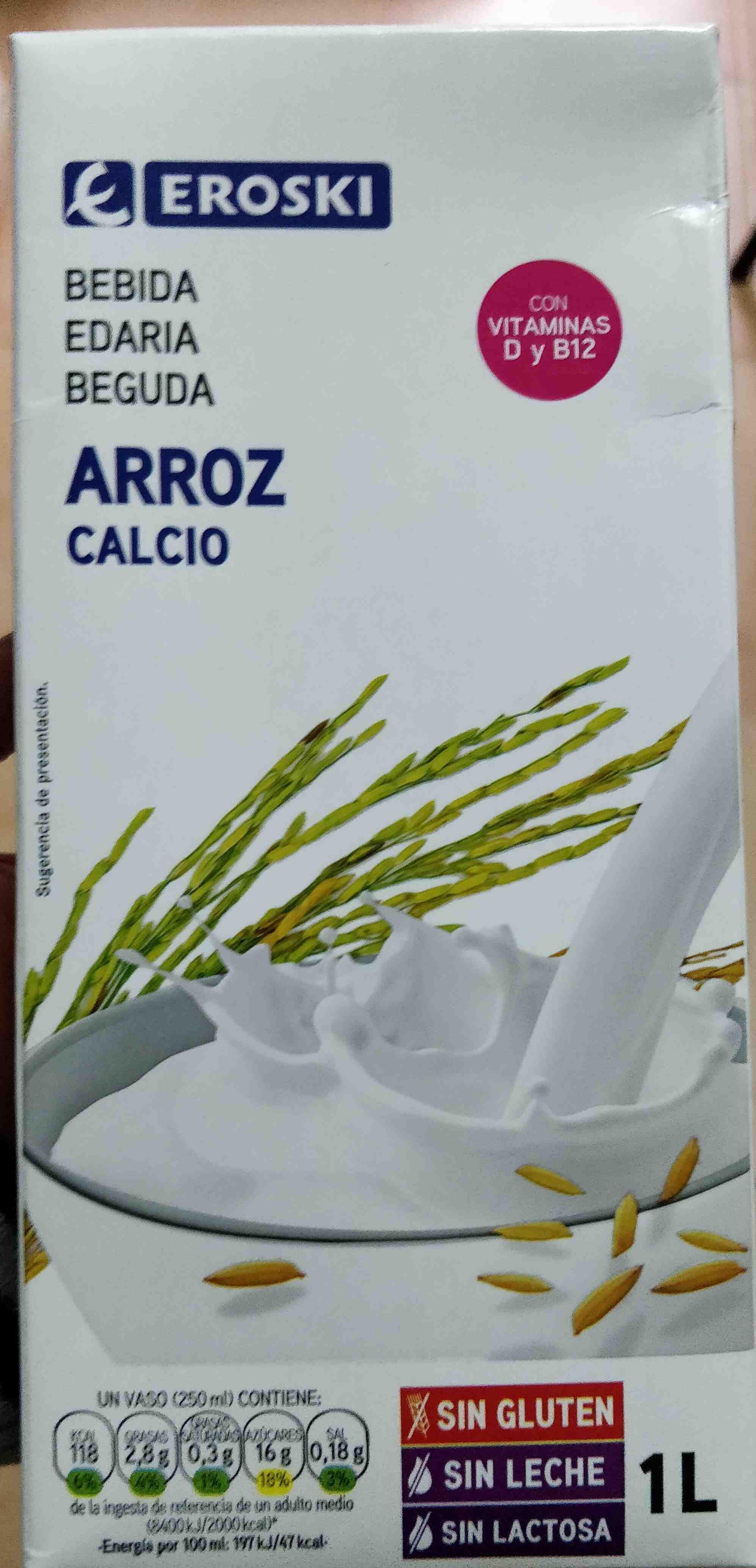 Bebida de arroz calcio - Product