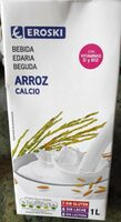 Leche de arroz con calcio - Produit - es