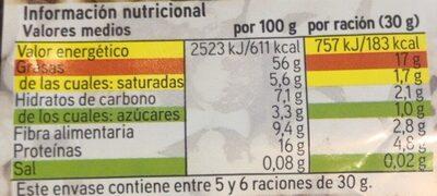 Mix crudo - Valori nutrizionali