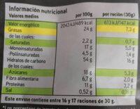Muesli con almendras, avellanas y nueces - Nutrition facts