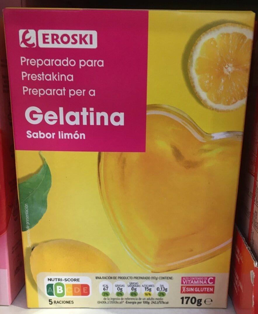 Preparado para gelatina sabor limón - Produit - es