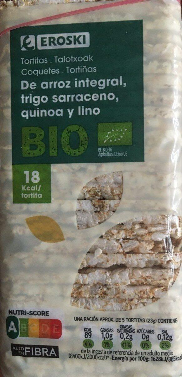 Tortitas de arroz - Producte - es