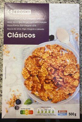 Copos de arroz, trigo integral y cebada - Product - es