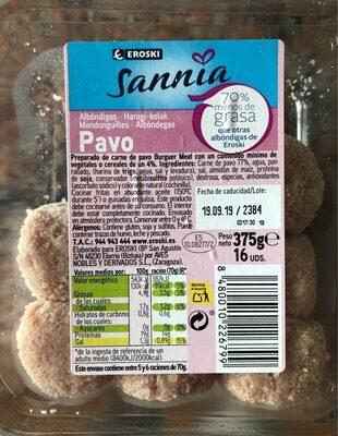 Albondigas de pavo - Product - es
