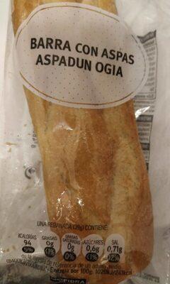 Barra con aspas - Product