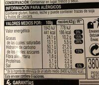Sobaos - Voedingswaarden - es