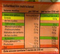 Gazpacho - Voedingswaarden - es