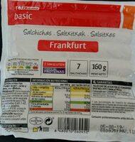 Salchichas Frankfurt - Producte