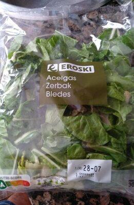 Acelgas - Voedingswaarden - es