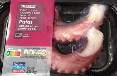 Pulpo cocido - Product