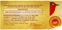 Queso Arzúa Ulloa AUCHAN - Ingredientes