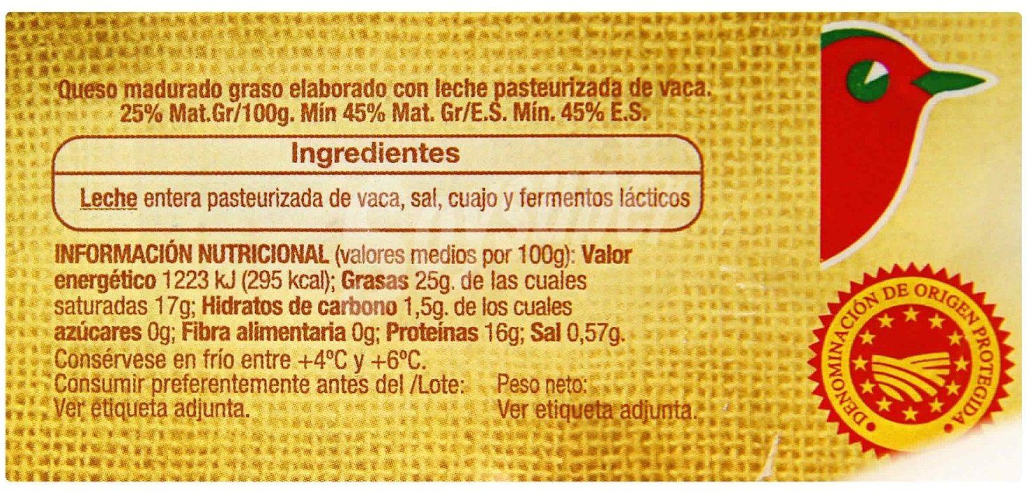 Queso Arzúa Ulloa AUCHAN - Información nutricional