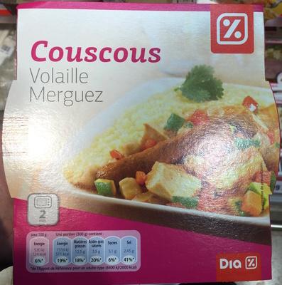 Couscous Volaille Merguez - Produit
