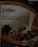 Céréales Muesli avec chocolat noir - Producte - es