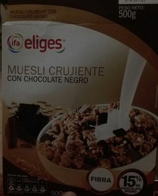 Céréales Muesli avec chocolat noir - Product